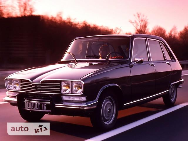 Renault 16 фото 1