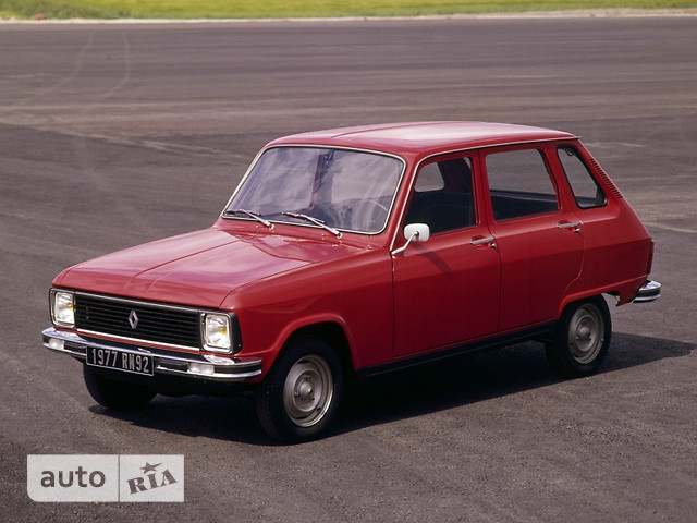 Renault 6 фото 1