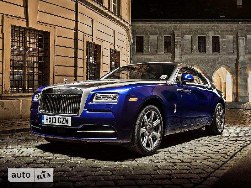 Rolls-Royce Wraith 6.6 AT (624 л.с.)