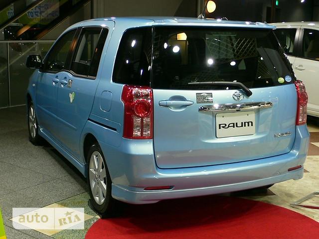 Toyota Raum фото 1