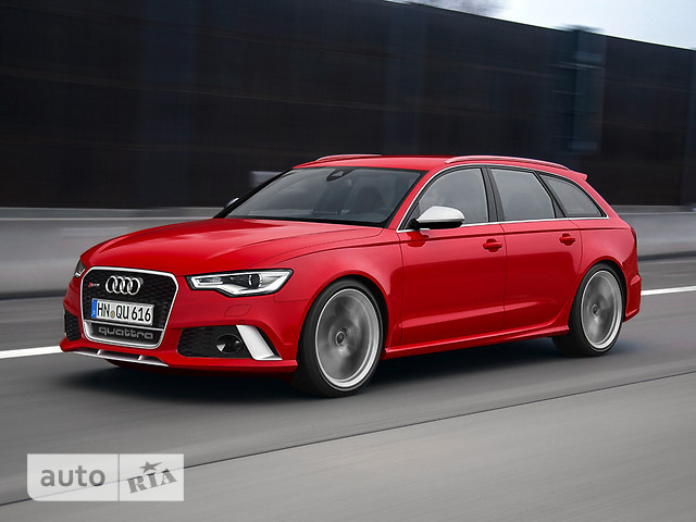 Audi RS 6 Avant фото 1