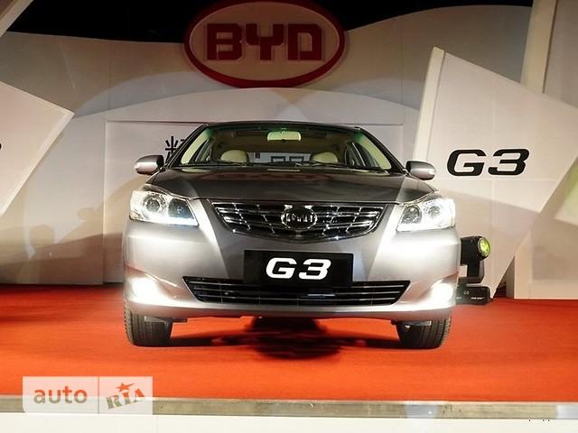 BYD G3 фото 1