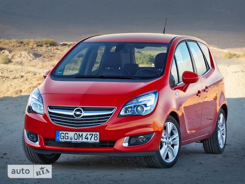 Opel Meriva 1.4 MT (100 л.с.) Start/Stop Cosmo