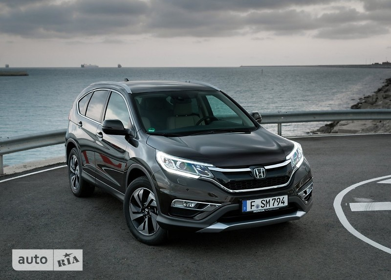 Honda CR-V 1.6D AT (160 л.с.) Elegance