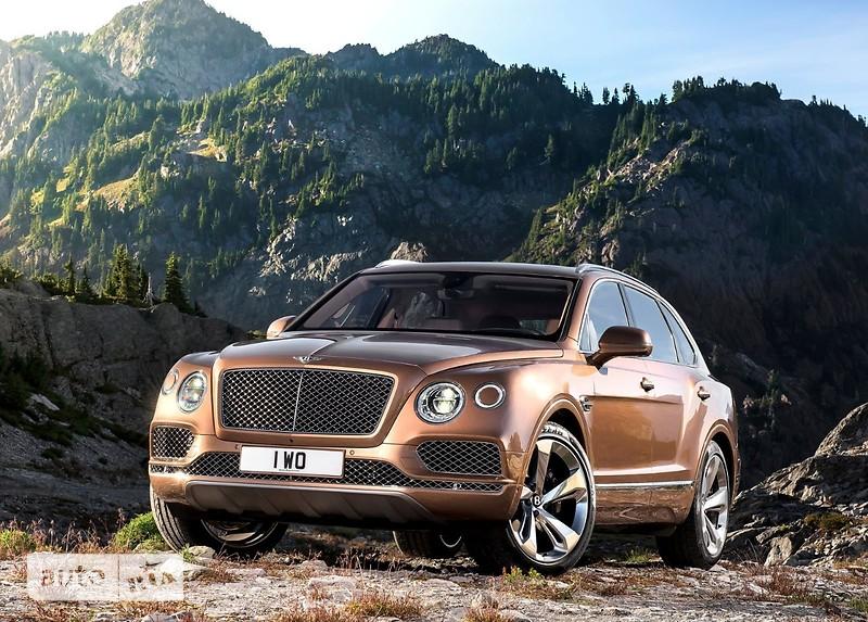 Bentley Bentayga фото 1