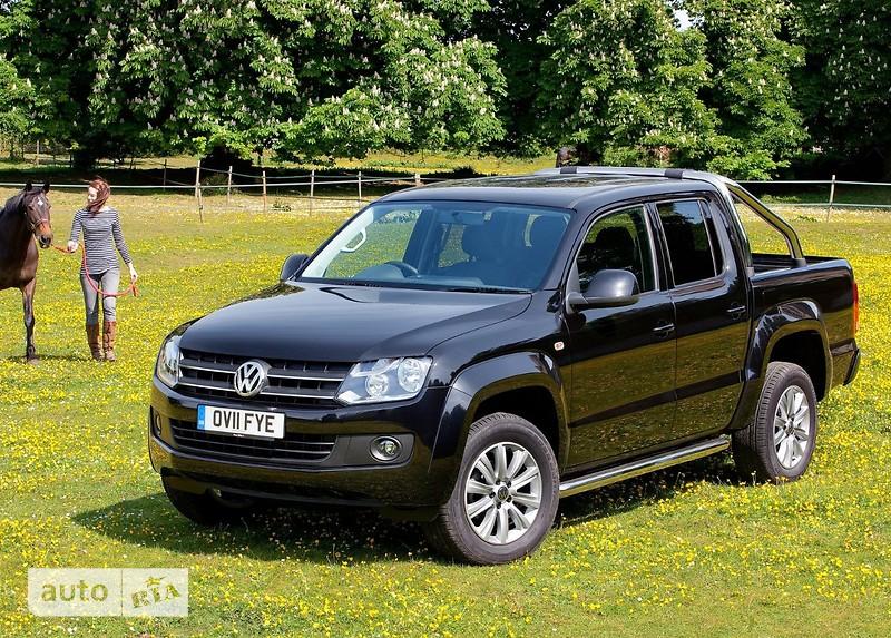 Volkswagen Amarok DoubleCab New 2.0D MT (180 л.с.) 4Motion Comfortline
