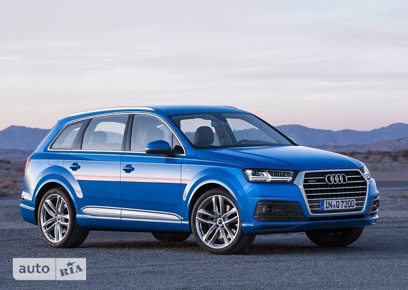 Audi Q7 3.0 TFSI АТ (333 л.с.) quattro S-Line