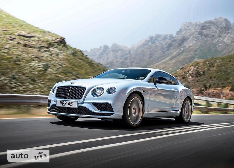 Bentley Continental GT V8 S фото 1
