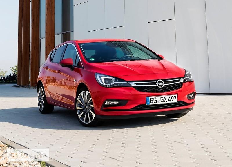 Opel Astra K фото 1