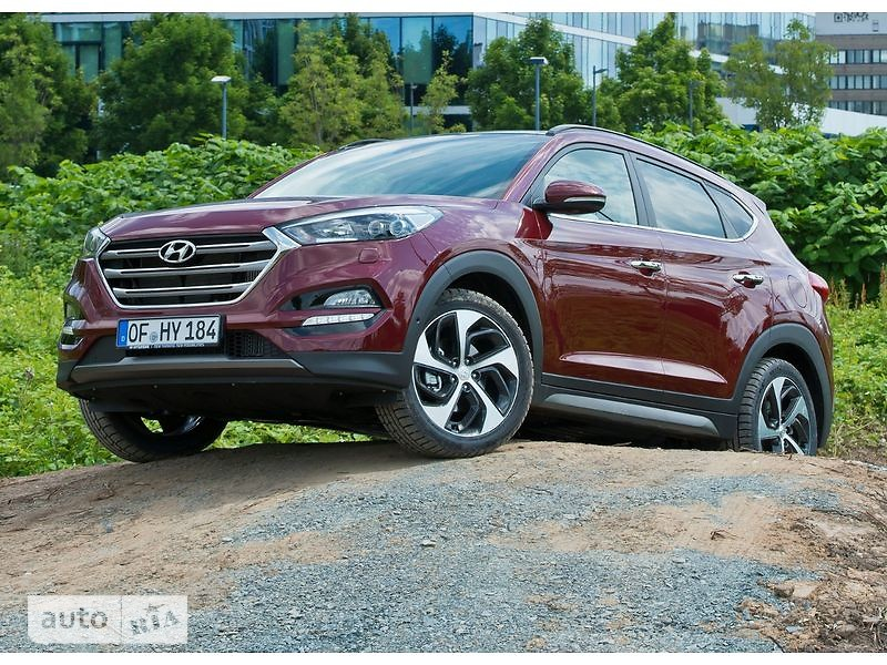 Hyundai Tucson 2.0 CRDi AT (185 л.с.) Limited Edition