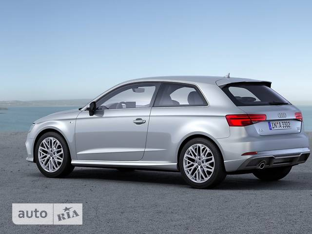 Audi A3 Sportback 2.0 TFSI S-tronic (190 л.с.) Basis