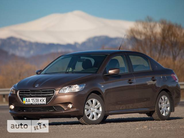 Peugeot 301 1.6 6AT (115 л.с.) Allure