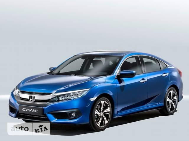 Honda Civic 1.6 AT (123 л.с.) Elegance
