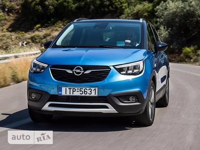 Opel Crossland X фото 1