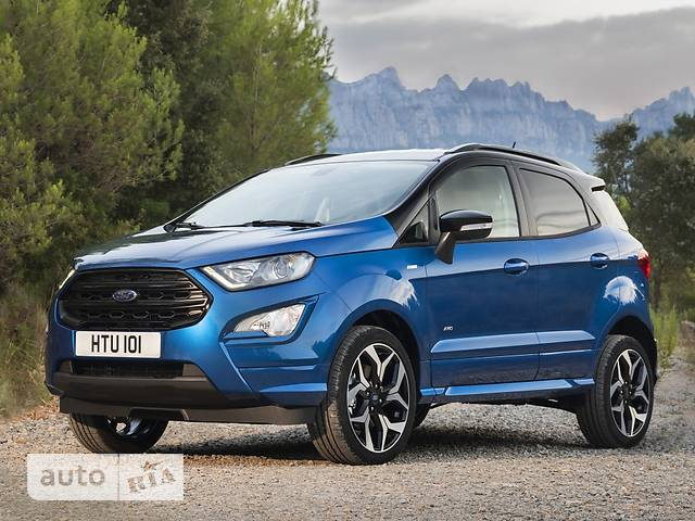 Ford EcoSport FL 1.0 EcoBoost AT (125 л.с.) Trend Plus