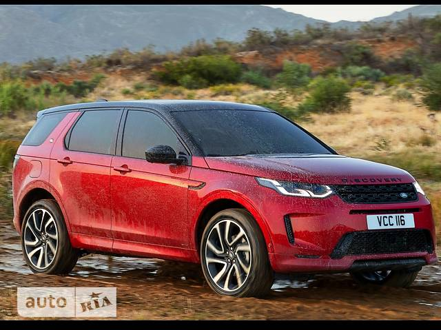 Land Rover Discovery Sport D180 2.0 TD4 АT (180 л.с.) AWD R-Dynamic SE