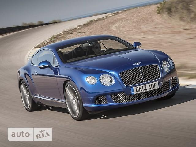 Bentley Continental GT фото 1