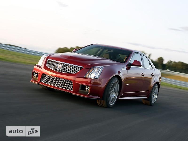 Cadillac CTS фото 1