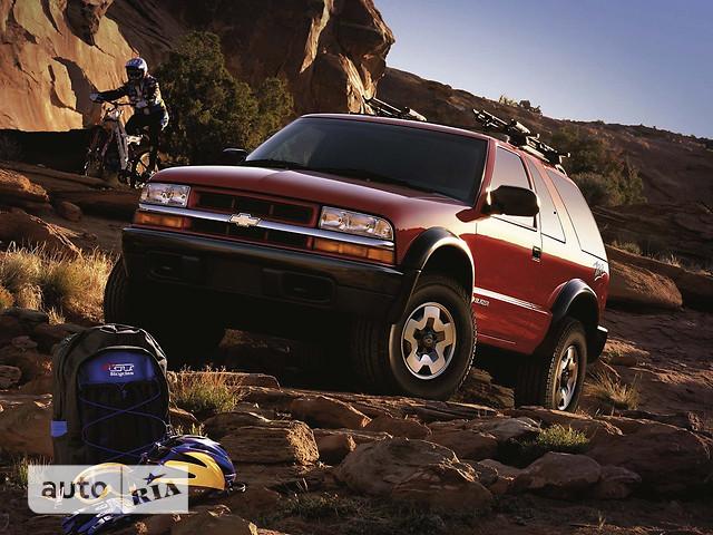 Chevrolet Blazer фото 1