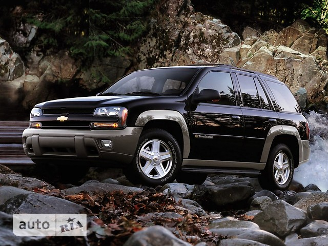Chevrolet TrailBlazer фото 1