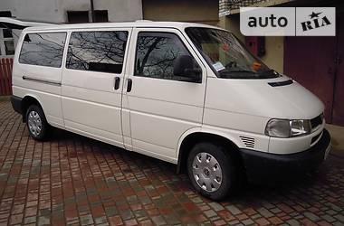 Volkswagen T4 (Transporter) пасс. long 2001