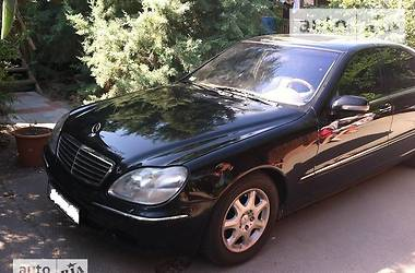 Mercedes-Benz S 500 W 220 LONG 1999