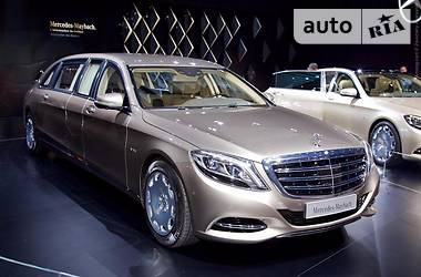 Mercedes-Benz S 600 Maybach S600 Pullman 2017