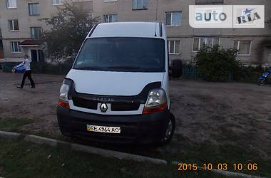 Renault Master пасс. 2004