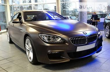 BMW 640 Gran Coupe M-sport 2013