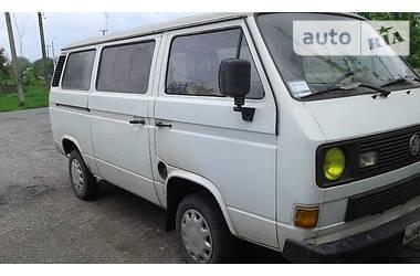 Volkswagen T2 (Transporter) пассажир 8 мест 1990
