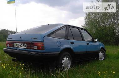Opel Ascona gas 1986