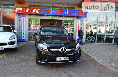 Mercedes-Benz GLE-Class 350d 4Matic CoupeAMG 2016