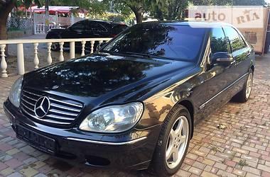 Mercedes-Benz S 600 W12 2002