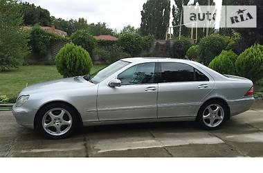 Mercedes-Benz S 320 Long 2001
