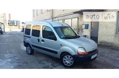 Renault Kangoo пасс.  2002