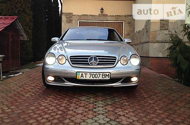 Mercedes-Benz CL 500 s-class coupe 2003