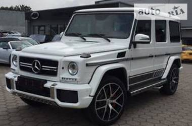 Mercedes-Benz G 63 AMG Full 2017