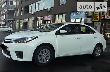 Toyota Corolla Business 2014