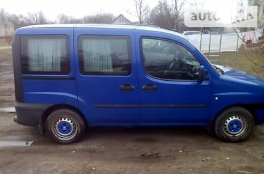 Fiat Doblo пасс. Cargo 2002