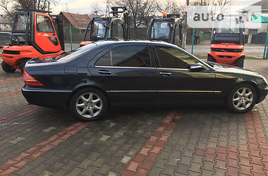 Mercedes-Benz S 500 S500Long 4matik 2004