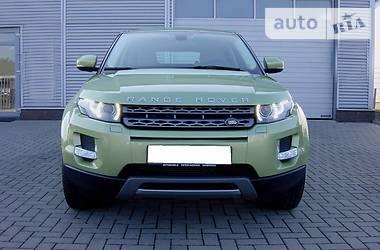 Land Rover Range Rover Evoque 2.2D 2012