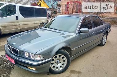 BMW 735 restailing 1996