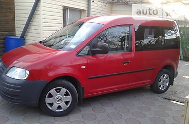 Volkswagen Caddy пасс. 2.0 Ecofuel 2007