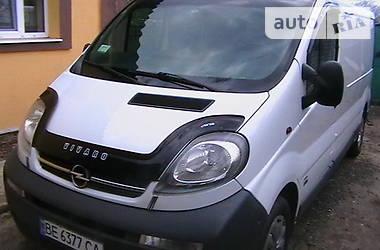 Opel Vivaro груз. 1.9 TD 2003