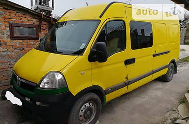 Opel Movano пасс. 2006
