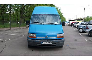Renault Master груз. 2001