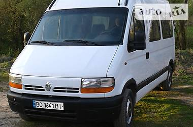Renault Master груз. вантажо - пасажирськ 2001