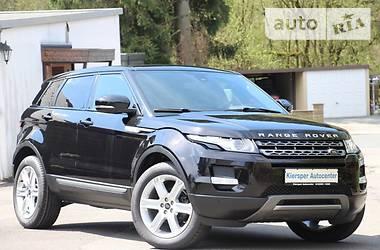 Land Rover Range Rover Evoque SD4 Pure 2013