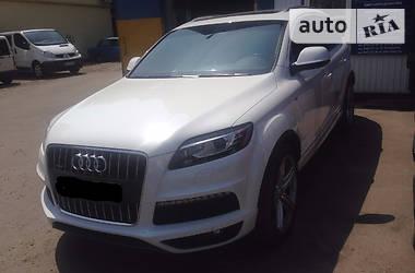 Audi Q7 TDI S-Line 2012