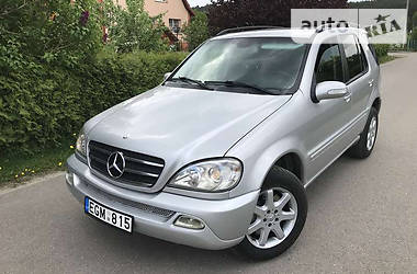 Mercedes-Benz ML 270  2002